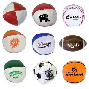 "2"" Sports Squeezable Stress Reliever Balls"